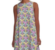 Beehives illusion A-Line Dress