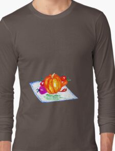 Collection of Vegetables Long Sleeve T-Shirt