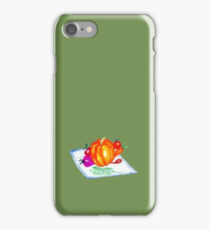 Collection of Vegetables iPhone Case/Skin