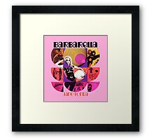 Barbarella - cult movie 1969 Framed Print