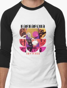 Barbarella - cult movie 1969 Men's Baseball ¾ T-Shirt
