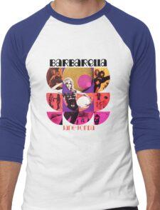 Barbarella - cult movie 1969 Men's Baseball ¾ T-Shirt