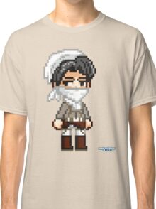 Attack on Titan - Cleaning Levi Pixel Sprite Classic T-Shirt