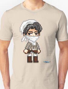 Attack on Titan - Cleaning Levi Pixel Sprite Unisex T-Shirt
