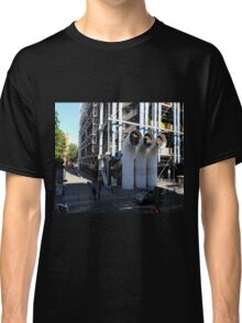 Centre Pompidou in Paris France, from a window opposite. Classic T-Shirt