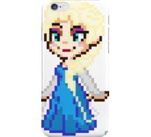 Frozen Elsa - Pixel Art iPhone Case/Skin