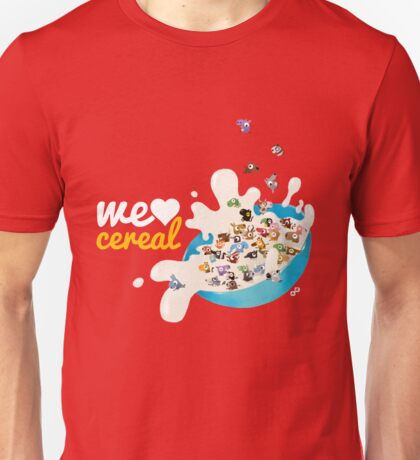 We Love Cereal Unisex T-Shirt