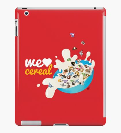 We Love Cereal iPad Case/Skin
