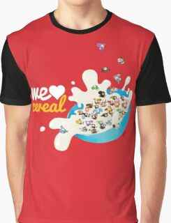 We Love Cereal Graphic T-Shirt