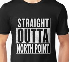Straight Outta North Point, Hong Kong Unisex T-Shirt
