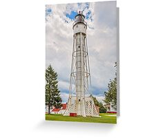 Sturgeon Bay Ship Canal Lighthouse Greeting Card
