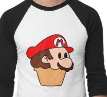 It's me, Mario-cream! Men's Baseball ¾ T-Shirt