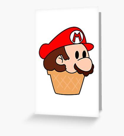 It's me, Mario-cream! Greeting Card