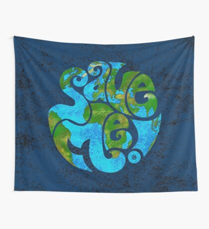 Save the Planet Wall Tapestry
