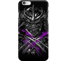 Samurai Shredder iPhone Case/Skin