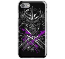 Samurai Shredder iPhone Case/Skin