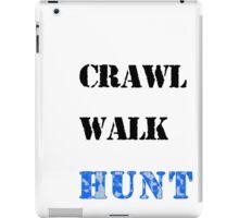 Crawl Walk Hunt Boys iPad Case/Skin