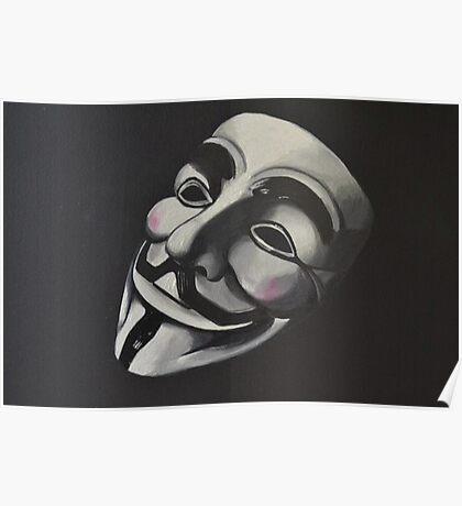 V is for Vendetta Poster
