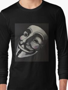 V is for Vendetta Long Sleeve T-Shirt
