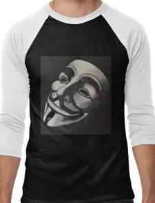 V is for Vendetta Men's Baseball ¾ T-Shirt