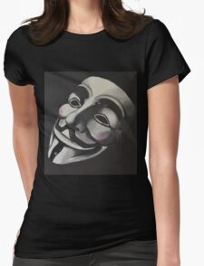 V is for Vendetta Womens Fitted T-Shirt