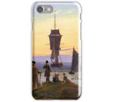 The Stages of Life by Caspar David Friedrich iPhone Case/Skin