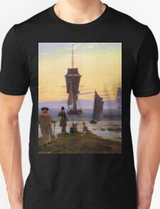 The Stages of Life by Caspar David Friedrich Unisex T-Shirt