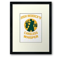 Josh Reddick's Careless Whisper - Oakland A's Framed Print