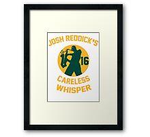 Josh Reddick's Careless Whisper - Oakland A's Framed Print