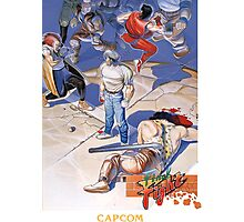 Final Fight Classic Box art Photographic Print