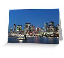 Brisbane City Greeting Card