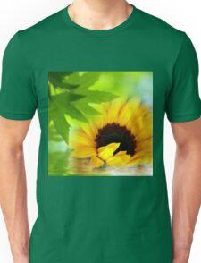 A Sunflower in Shade Unisex T-Shirt