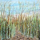 A walk to the dunes by Regina Valluzzi