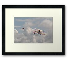 WWi - The Fokker Scourge - Eindecker  Framed Print