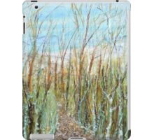 A walk to the dunes iPad Case/Skin