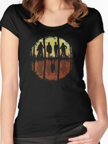 Stranger Things - Upside Down Women's Fitted Scoop T-Shirt