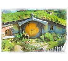 Homes of the Shire Folk Poster