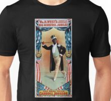 Performing Arts Posters Wm H Wests Big Minstrel Jubilee formerly of Primrose West 1863 Unisex T-Shirt