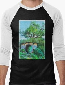 Homes of the Shire Folk Men's Baseball ¾ T-Shirt