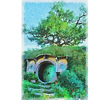 Homes of the Shire Folk Photographic Print