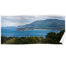 View from Pirate Bay at Eaglehawk Neck, Tasmania. Poster