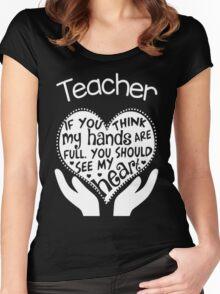 Teacher Shirts Women's Fitted Scoop T-Shirt