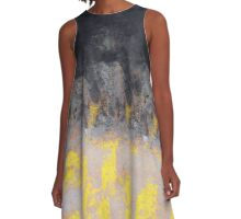 abstract 9,16 A-Line Dress