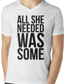 Childish Gambino - All she needed was some - w/o Images Mens V-Neck T-Shirt