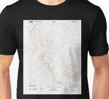 USGS TOPO Map Arizona AZ Mexican Water SW 20111026 TM Unisex T-Shirt