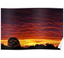 Sunrise Intensity Poster