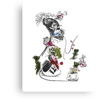 Story Lines - Alice in Wonderland Characters Canvas Print