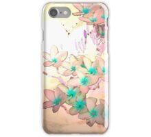 Frangipani Rainbows iPhone Case/Skin