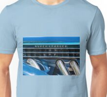Blue Super-Charged Unisex T-Shirt