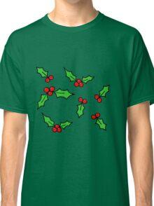 Green Holly Classic T-Shirt